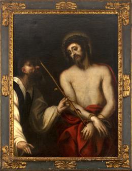 """24  -  <p><span class=""""object_title"""">Escuela italiana del siglo XVII. Ecce Homo.</span>.<br></p>"""
