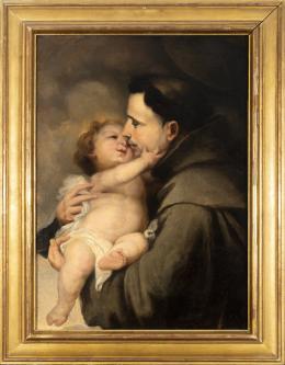 "33  -  <p><span class=""object_title""> Escuela sevillana del siglo XVII. Círculo de Bartolomé Esteban Murillo. San Antonio de Padua.</span>.<br></p>"