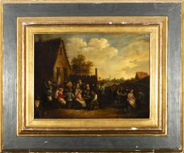 "31  -  <p><span class=""object_title"">Escuela holandesa del siglo XVII. Seguidor de David Teniers. Fiesta de aldeanos.</span>.<br></p>"