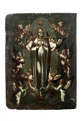 "47  -  <p><span class=""object_title"">Escuela del Norte de Europa del siglo XVII. Virgen Inmaculada.</span>.<br></p>"