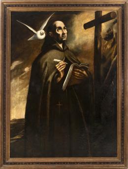 """48  -  <p><span class=""""object_title""""> Escuela toledada del siglo XVII. Santo Tomás de Aquino.</span>.<br></p>"""