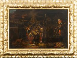 "53  -  <p><span class=""object_title"">Escuela italiana del siglo XVII. Rebeca y Eliezer. </span>.<br></p>"