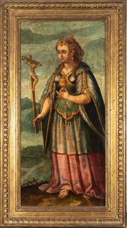 "58  -  <p><span class=""object_title""> Escuela española del siglo XVII. María Magdalena.</span>.<br></p>"